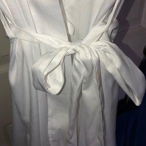 Gilligan & O'Malley Intimates & Sleepwear - White bride 👰🏻robe EUC.